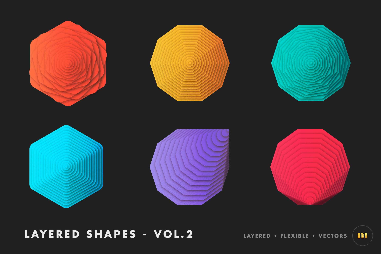 Layered-vector-shapes-milktoast-vol.2
